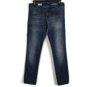 Gap 1969 Womens Jeans Size 26/2 Medium Wash